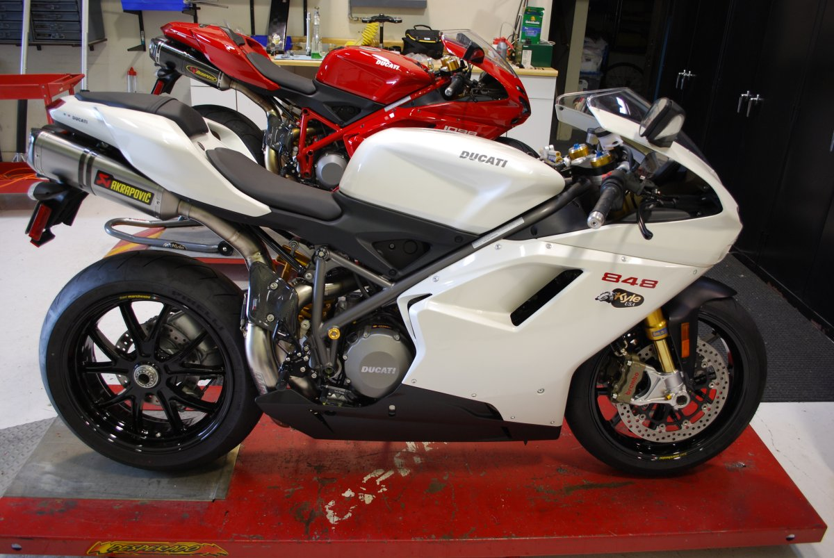 ... 848, Track Prepped, The 1098S!